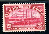USAstamps Unused FVF US 1912 Parcel Post Manufacturing Scott Q9 OG MLH