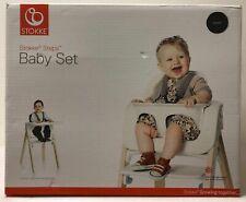 Stokke 5-Point Harness Adjustable Baby Set For Steps HIgh Chair - Black