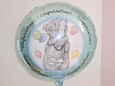 """18""""  FOIL BALLOON CONGRATULATIONS ME TO YOU - TATTY TED INC RIBBON & WEIGHT"""