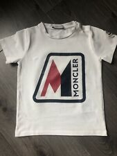 Baby Boys Moncler T Shirt Age 2