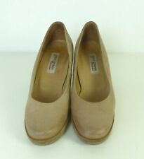 PAUL GREEN Plateau Pumps Beige Velour Gr. 4 37 (DW50)