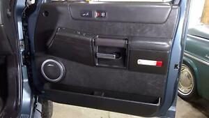 03-07 Hummer H2 Passenger Right Front Interior Door Panel (Ebony 48i)