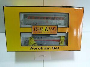 MTH RAIL KING 30-2210-0 Penna #1000 AEROTRAIN DIESEL PASSENGER TRAIN SET NIB