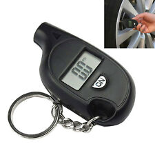 Portable Mini LCD Digital Tire Tyre Air Pressure Gauge Tester Keychain Car Truck