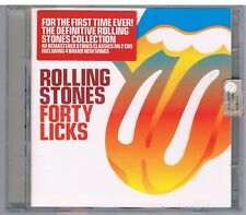 THE ROLLING STONES FORTY LICKS - 2 CD  F.C .