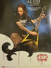 Children of Bodom, Alexi Laiho, ESP Guitars, Full Page Promotional Ad
