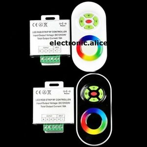 18ATouch Screen Dimmable Remote Wireless RF Controller For Led RGB Moudle Strip