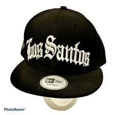 New Era Grand Theft Auto V GTA Los Santos Adjustable Snap Back Hat Black White