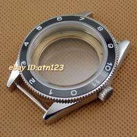 Ceramic bezel sapphire 41mm watch case fit Miyota 8205/8215,ETA 2836,DG2813/3804