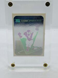 1990 Impel Marvel Holograms Cosmic Spider-Man #MH1 Framed See Pictures!!