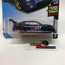 BAD CARD * '16 Cadillac ATS-V R * Blue Kroger Only * 2019 Hot Wheels * S41