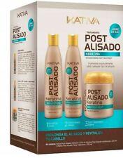 KATIVA Post Alisado  - Hair Kit After Keratin Straightening SET
