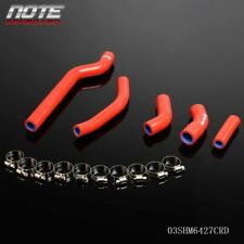 Silicone Coolant Radiator Hose Kit For YAMAHA WR250F 2007-2009 2008 Red