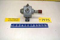 "Air Motor Model # AM425 Pneumatic - Shaft 1.015"" W x 3"" L  Free Ship"