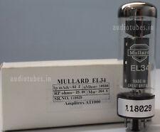 EL34 Mullard Welded Plate Made in Gt.Britain Amplitrex tested  #118029