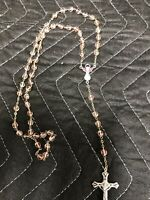Vintage Rosary Beads Made In Italy Marked