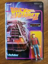 Back To The Future 35th Anniversary Super 7 Action Figure Future Marty With.
