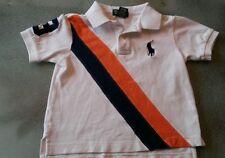 Polo Ralph Lauren BIG Pony Horse Striped Polo Shirt Youth Boys 4T