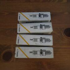 VAUXHALL OPEL ASTRA CAVALIER CARLTON NOVA SPARK PLUGS SET x4 !GENUINE! 90350018