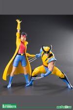 Kotobukiya Marvel Universe X?Men '92 Wolverine & Jubilee Two Pack Artfx+ Statue
