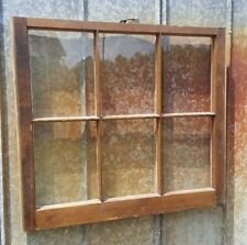 VINTAGE SASH ANTIQUE WOOD WINDOW  FRAME PINTEREST RUSTIC 32x20 8 PANE