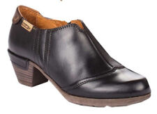 NEW PIKOLINOS Rotterdam Black Leather Ankle Bootie Boot/Side zip EU 40/US 9.5-10