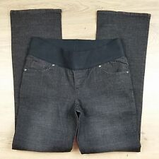 Patch Women's Dark Denim Boot Cut Maternity Jeans NWT Size S W31 L32.5 (F4)