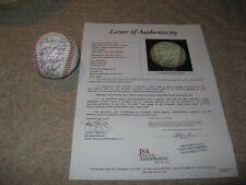 1996 Sun Cities Solar Sox AUTOGRAPHED Baseball 26 Signatures  JSA Cert Lee Lopes
