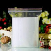 100 4x6 cm ZIP LOCK Bags Clear Plastic BAG RECLOSABLE NEW SA Small Baggies M0I8