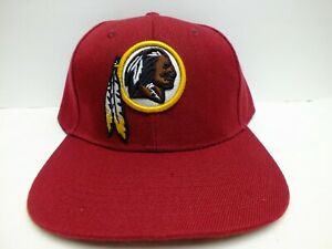 WASHINGTON REDSKINS CAP HAT NFL REEBOK TEAM APPAREL 3D LOGO EMBROIDERED NEW