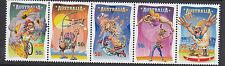 Australia 2007 Circus Under the Big Top - Stamp Set (2836/2840)