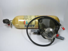 Scott 802260 02 Air Pressure Tank And Mask Regulator Assembly Used