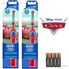 Braun Oral-B Advance Power Batería Cepillo dE dientes - Disney Cars Edición
