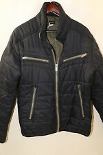 DIESEL Quilted Moto Jacket Size L