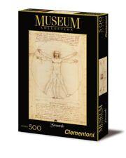 Clementoni 35001. El Hombre de Vitruvio. Puzzle de 500 piezas. 49x36cm