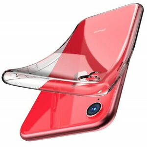 Ultra Slim Protective TPU Silicone Flexible Clear Case Cover Skin For iPhone XR