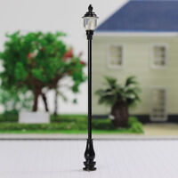 LQS20 10pcs Model Railroad O scale Lamps Led Street Lights Antique 1:43 Lamps