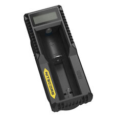 Nitecore UM10 USB Li-ion Battery Charger For 18650/18490/18350/17670/17500/16340