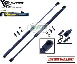 2 REAR WINDOW GLASS LIFT SUPPORTS SHOCKS STRUTS ARMS PROPS RODS DAMPER FITS CRV