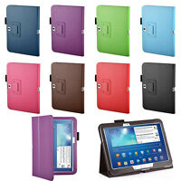 Pu Leather Case Cover Stand for Samsung Galaxy Tab 3 10 10.1 + Stylus P5200