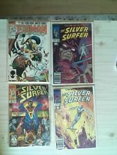 Marvel Comics The Silver Surfer Issue 1 & 2 In A Limited Series, 78 Mar & #2 Feb
