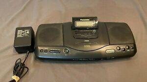 Vintage 1994 Panasonic SL-PH2 AM/FM Stereo CD Portable System w/Alarm GREAT