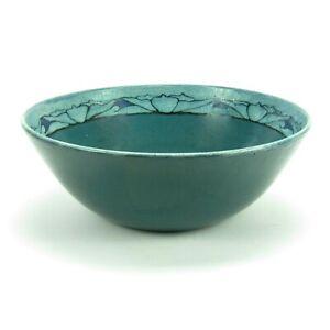 "SEG Saturday Evening Girls Paul Revere Pottery 10"" lotus band bowl arts & crafts"
