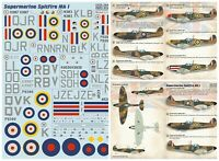 Print Scale 72-403 - 1/72 - Supermarin Spitfire Mk. 1, Decal for aircraft UK