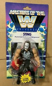 WWE Wrestling Masters of the WWE Universe Sting RARE