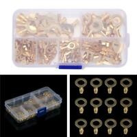 150PCS Ring Terminal Multi-Purpose Cable Lug Bare Terminal Connector New