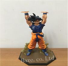 Anime Dragon Ball Z Character Son Goku Spirit Bomb Battle PVC Figure Toys