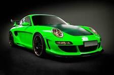 Leinwand Bilder Porsche 911 GT R 3 500 550 Grün Sport