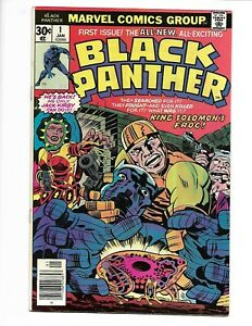 Black Panther #1 Marvel Comics 1977