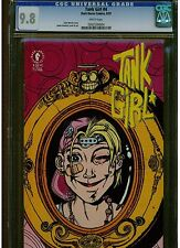 TANK GIRL #4 CGC 9.8 WHITE PAGES DARK HORSE COMICS 1991 BLUE WORLD WIDE SHIPPING